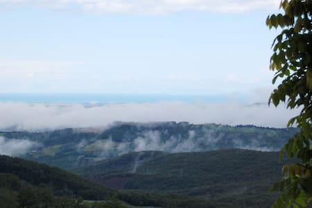 Vacanza in mezzo alla natura !!! - Montecatini Val di Cecina - Wohnung