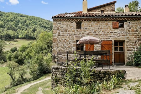 Rustic house with garden & terrace - Saint-Basile