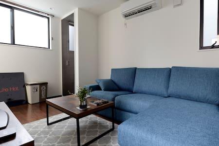 New Ebisu Hiroo 3BR 75sq mtr House w/ Rooftop Deck - Dům