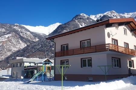 Útulné ubytovanie v Tirolských Alpách.... - Ház