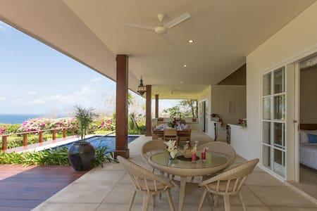 1-2BR Hidden Oceanview Villa - Pandawa Beach - Villa