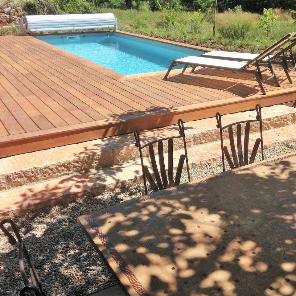 Gorges du Tarn, heated swimmingpool - Houses for Rent in Quézac