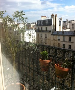 Your own balcony with a view of the Eiffel Tower ! - Apartment