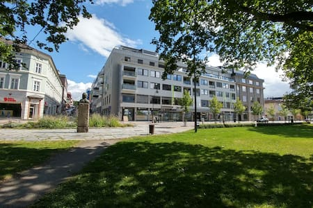 Room in newer apartment downtown Hamar - Hamar - Pis