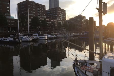 Vakantiegevoel midden in de stad - Rotterdam