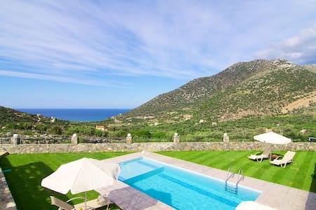Dream Villa Orchidea, magnificent views! - Rethymno