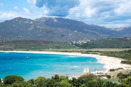 Villa Sampiero T3 vue mer, plage à 200 m, 6 pers - Villa