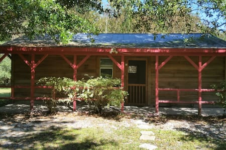 Cypress cabin on wildlife sanctuary - Gainesville - Cabanya