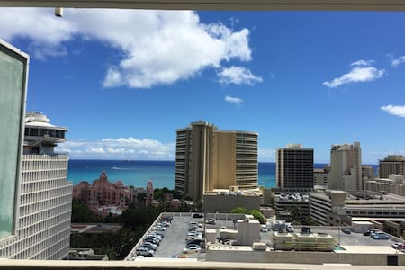 New Secured Private Studio, Great View, 2 Lanais - Honolulu - Apartment