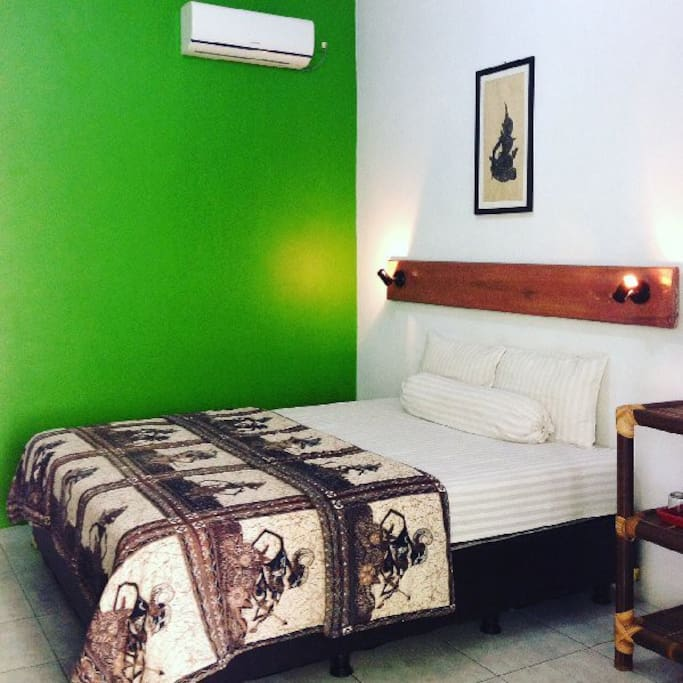 green room 2 personnes + 1 extrabed payant AC
