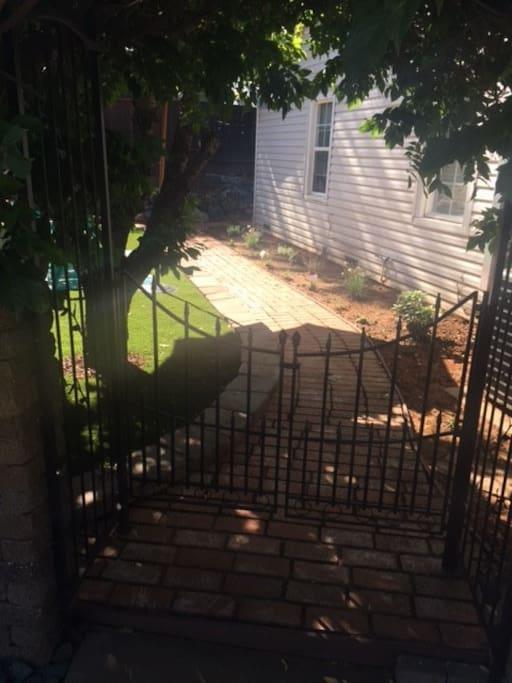 Yard entry