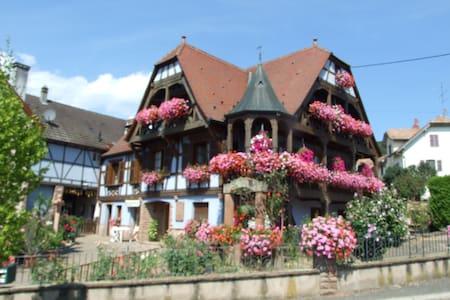 """Chambres d'hôtes """"Au Vigneron"""" - Triembach-au-Val - House"""