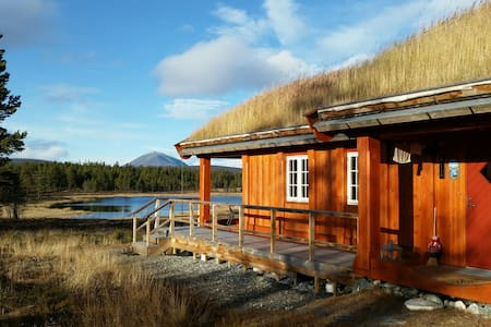 Log cabin in the mountains - キャビン