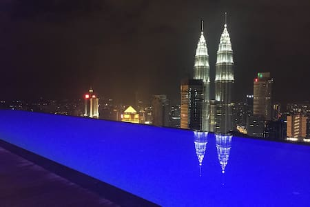 The Best Swimming Pool View in KL City - Kuala Lumpur - Appartement