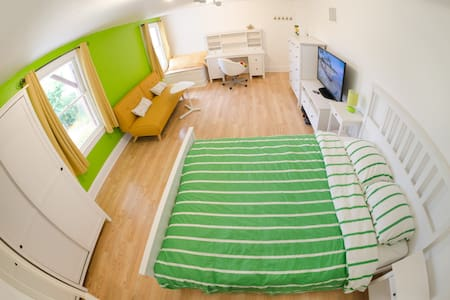 Private giant stylish fully furnished room - San Francisco