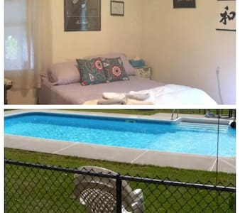 CozyRoomw/POOL *126HostReviews* - Newburgh - Casa