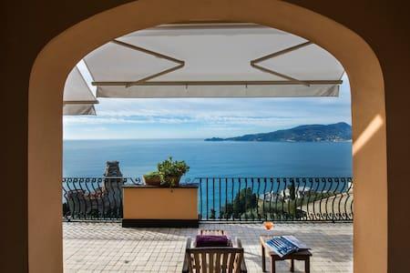 Apartment with beautiful views of Portofino - Zoagli