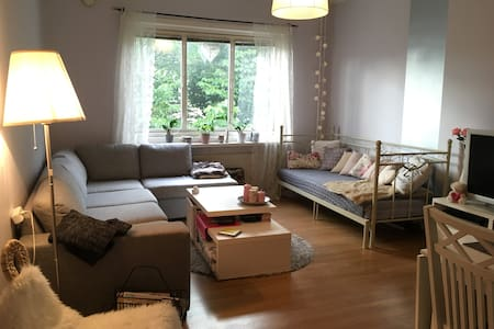Feel like home in my cozy livingroom - Gothenburg - Apartment