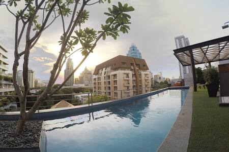 Homey Condo Near BTS Ploenchit - Bangkok - Wohnung