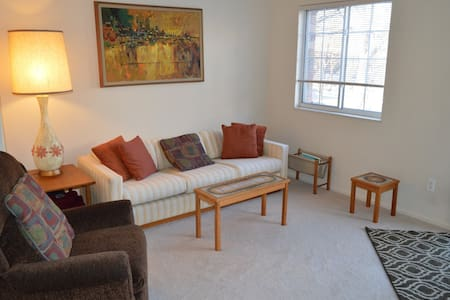 Quiet & cozy 1 bedroom apartment - Apartment