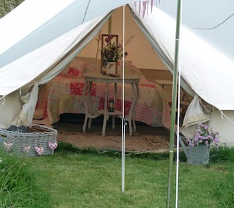 Dewflock Farm, Dorset Farm Camping - Tält