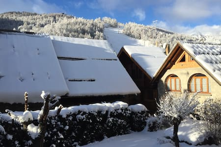 chambre chez l'habitant à 100 m des pistes de ski - Appartamento