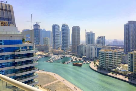 1BD Apartment in Dubai Marina 2 min from the beach - Apartmen