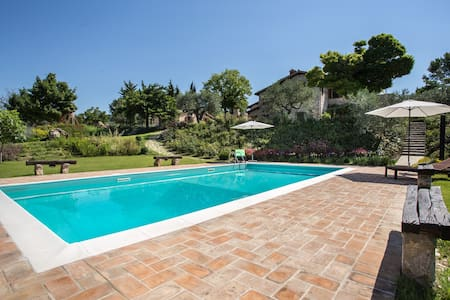 Umbria holiday on the enchanting hills of Todi! - Massa Martana - Maison