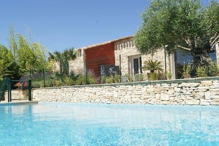 Villa luxueuse en pierres et oliviers millénaires - Villa