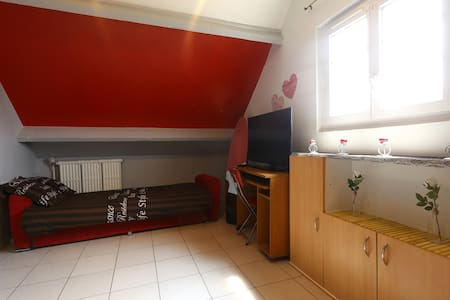 Room close to  Roissy Cdg (15 min) - House