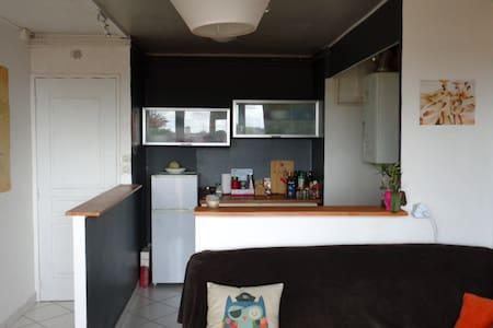 Grande chambre dans T2bis lumineux et calme - Wohnung