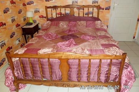chambre meublé chez l habitant lit de 140/190 - Guesthouse