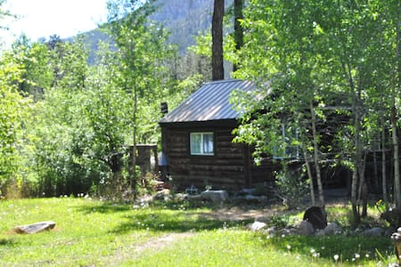 Rustic cabins on the Poudre river The Easy Rider - Cabaña