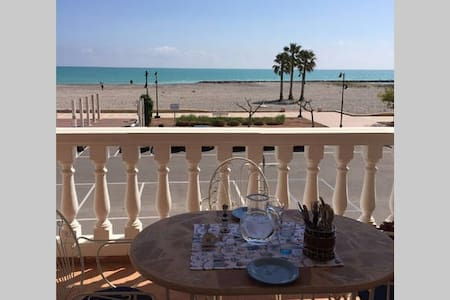 Apartamento primera linea de playa de Chilches - Xilxes