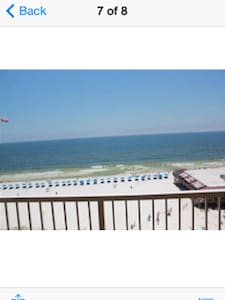 2BR/2BA Condo on the gulf of Mexico - 公寓