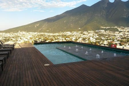 Best Place, Executive New Apartment Private 2 Beds - Monterrey - Daire