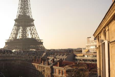 Eiffel Tower Studio in Paris - Osakehuoneisto