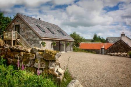 Dartmoor Remote Private Self Catering Barn - Apartemen