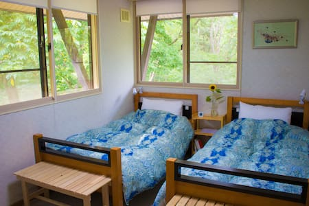 Myoko Mountain Lodge Twin Room - Bed & Breakfast