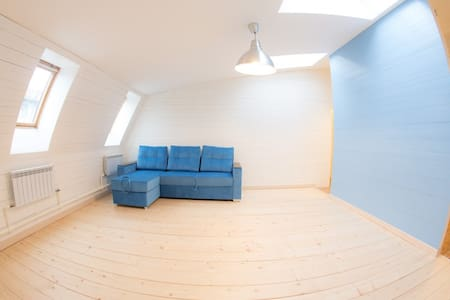 Атмосферная мансарда в центре города - 圣彼德堡 - 公寓
