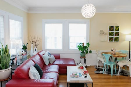 Charming Nob Hill Apartment - Huoneisto