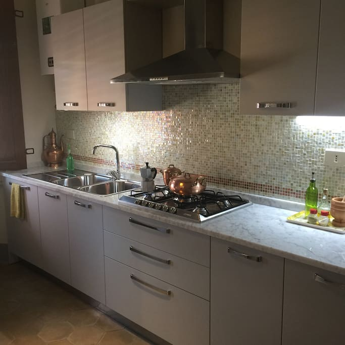 Our brand new kitchen!