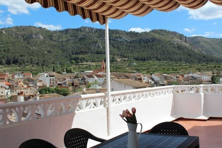 Villa penthouse with beautiful views - Almiserà - Casa de camp