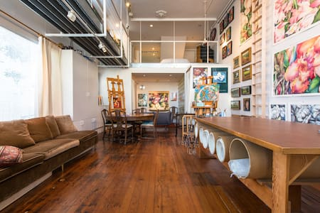 Deluxe Working Artist's Shared Loft - San Francisco - Loft