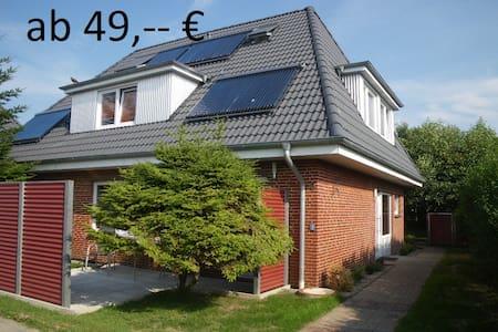 """In 2014 renovierte Fewo """"Sylt"""" - Dagebüll"""
