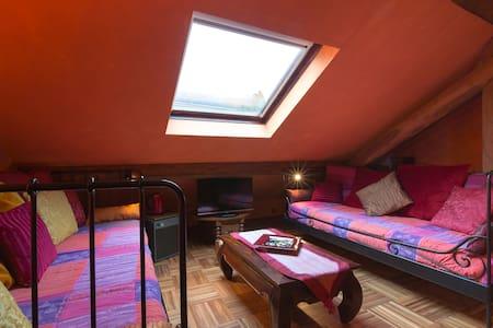 Chambre avec salle de bain privée Suite Orientale - Péron - Bed & Breakfast