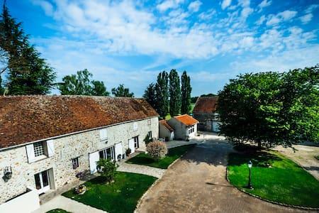 Domaine de La Réthorée - Maison de Maître du 18e - Giremoutiers