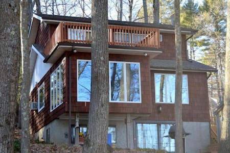 Lakefront at Wallenpaupack with Dock! - Casa