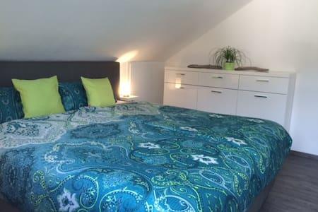 Neue Ferienwohnung mit Komfort - Apartamento