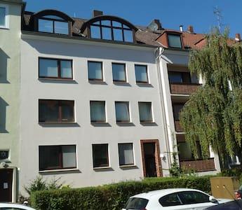 Citynah und ruhig wohnen, Maschsee, Aegi, Messe - Hannover - Apartament